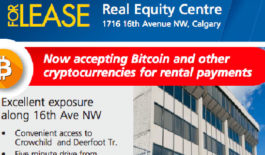 Calgary office building to accept Bitcoin for rent payment