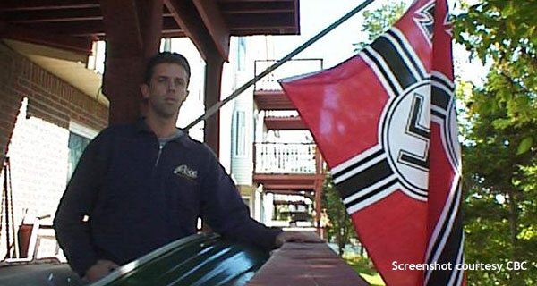 A neo-Nazi taunts Jews in Nova Scotia, with government help