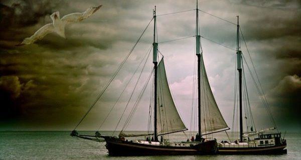 'Three sheets to the wind, damn nearly decks awash!'