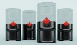Crude oil in Canadian pipelines on the upswing