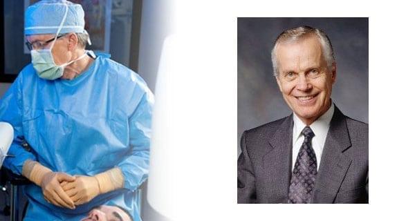 Cancerous tumour forces Dr. Howard Gimbel to give up eye surgery