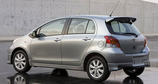 The 2010 Toyota Yaris remains economical and functional