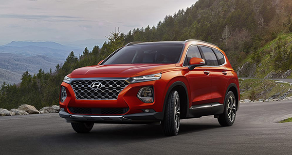 The 2019 Hyundai Santa Fe is a straightforward value