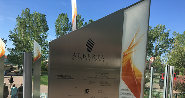 Monument at Spruce Meadows honours Alberta leaders