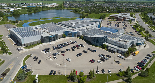 Airdrie home to Canada's largest municipal rooftop solar system
