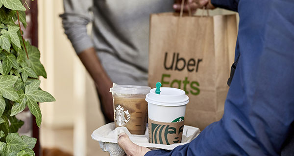 Starbucks partners with Uber Eats to deliver in Canada