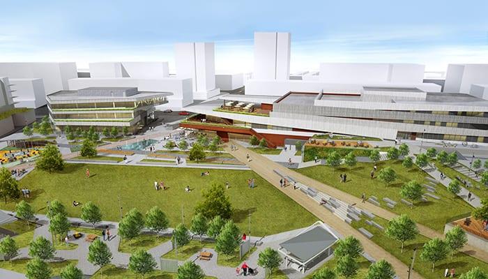 University district development