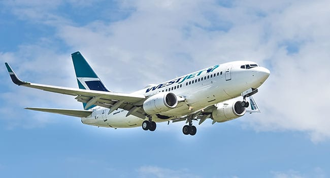 WestJet extends temporary transborder and international route suspensions
