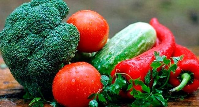 Vegetables for healthy eating