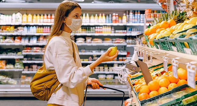 Grocery store sales spike initially amid COVID-19 pandemic fears