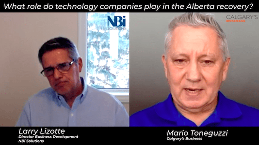 What part will technology play in Alberta's economic recovery?