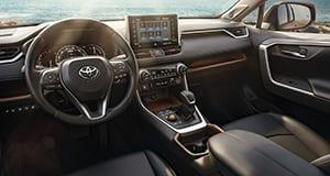 Toyota RAV4 Hybrid 2020 Interior