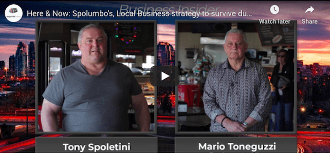 The impact of COVID-19 on Spolumbo's wholesale business