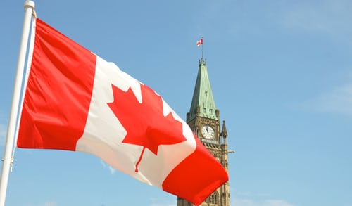 Travel to Canada increases in September