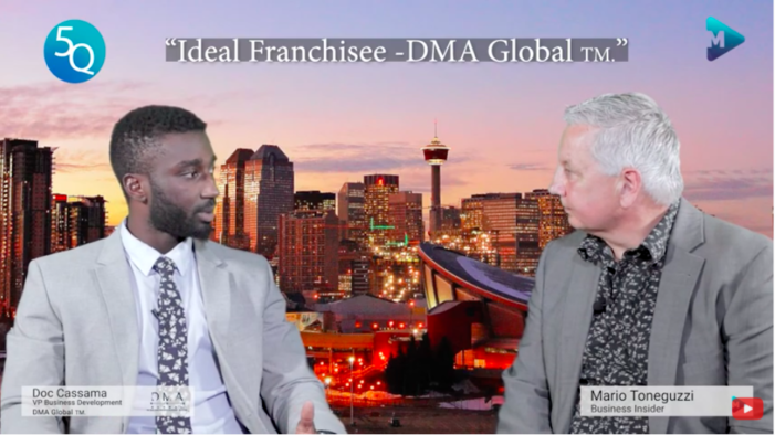 The ideal franchisee for DMA Global