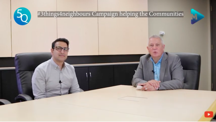 #3Things4Neighbours Campaign supporting community