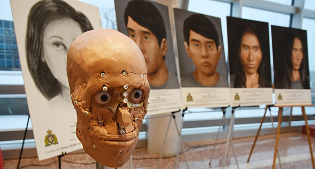 facial reconstruction forensic anthropology