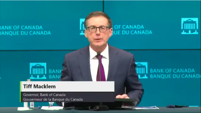 VIDEO: Bank of Canada Governor on the Economy