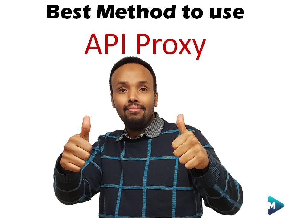 Code Crushers – Best Method to use API Proxy