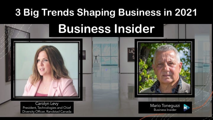 VIDEO: 3 Big Trends Shaping Business in 2021