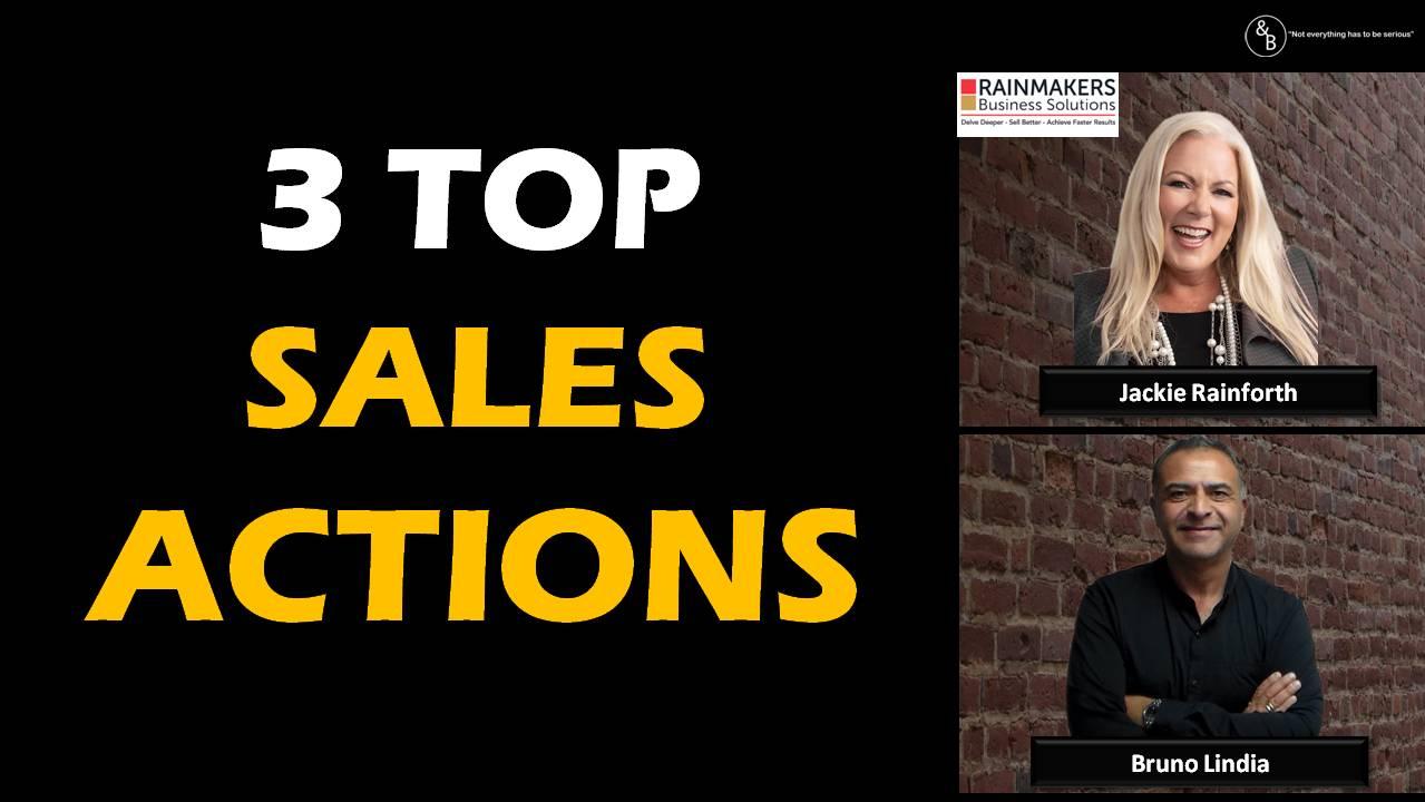 AndB – 3 Top Sales Actions