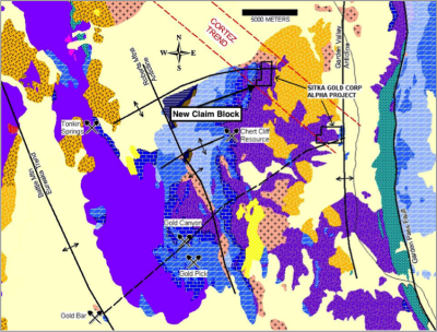 Drill Mobilized to Sitka's Alpha Gold Project in Nevada
