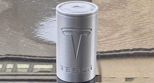 tesla 4680 dry cell precious metals