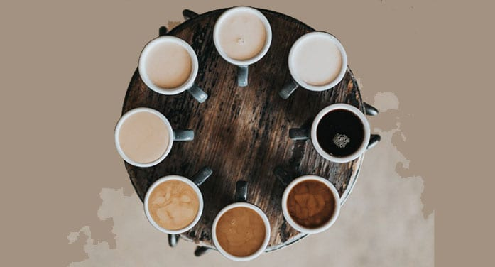 Ideological diversity coffee chains
