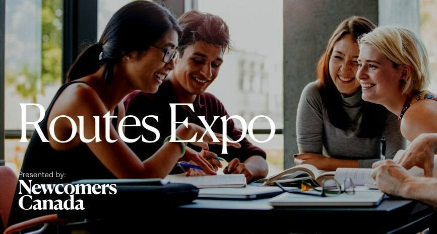 Free virtual expo for newcomers to connect to resources