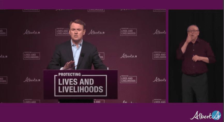 VIDEO: Alberta update on Thursday on COVID-19