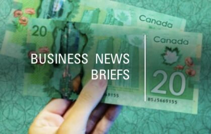 BUSINESS NEWS BRIEFS for today