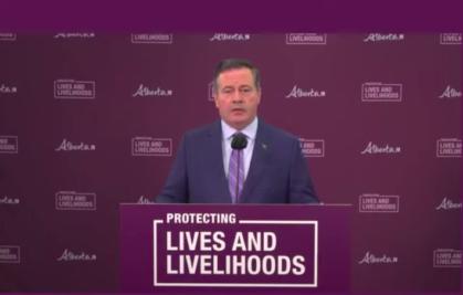 VIDEO: Alberta Premier Jason Kenney's COVID Update
