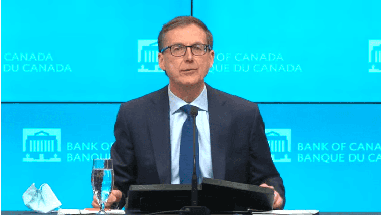 VIDEO: Bank of Canada Governor Tiff Macklem's Monetary Policy Report