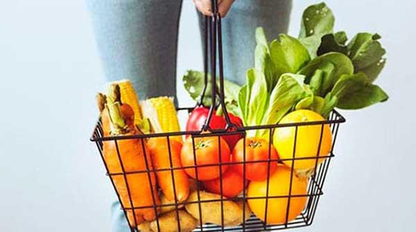 food basket, food