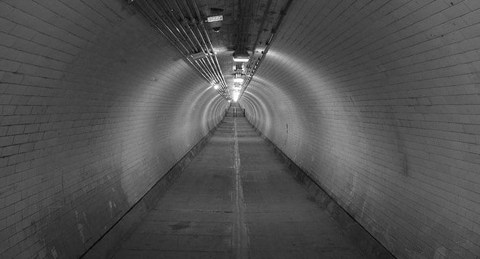 tunnel chamber underground positive, media, news, trump