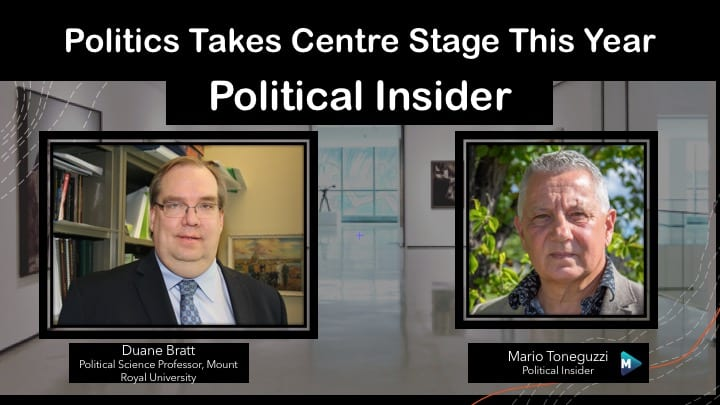 VIDEO: Politics Takes Centre Stage This Year