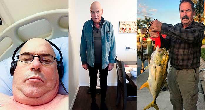 Stem cell transplant patient Paul Guenard