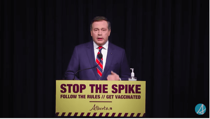 VIDEO: Alberta Premier Jason Kenney announces stricter COVID measures