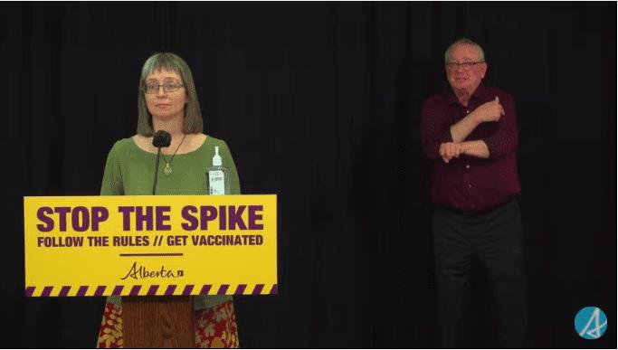 VIDEO: Alberta Dr. Deena Hinshaw's COVID-19 Update