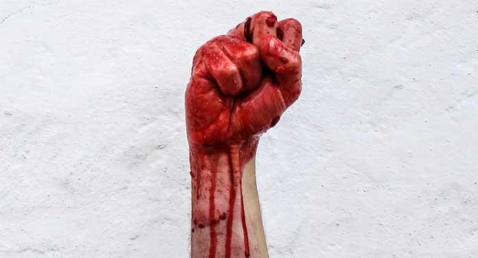 War bloody fist