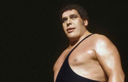 André the Giant wrestling wrestler entertainment