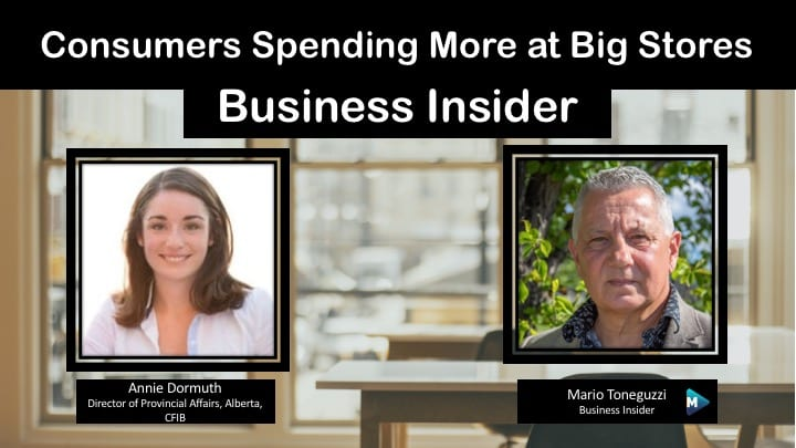 VIDEO: Consumers spending less at small businesses and more in big stores