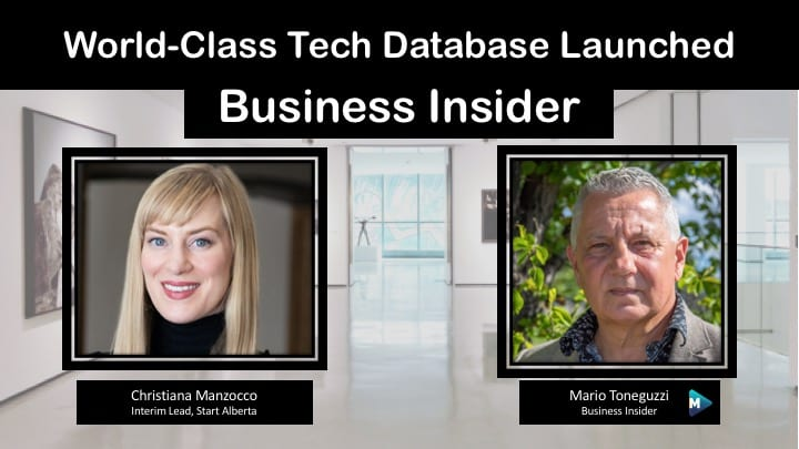 VIDEO: World-Class Tech Database Launched
