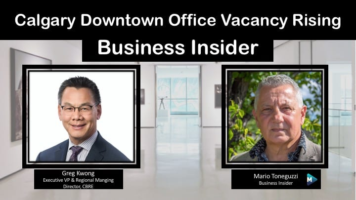 VIDEO: Calgary Downtown Office Vacancy Rising