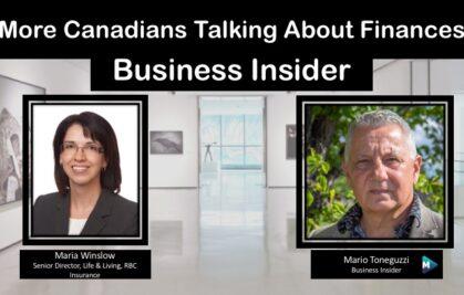VIDEO: More Canadians Talking About Finances