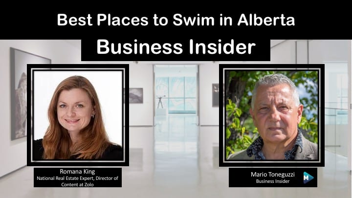 VIDEO: Best Places to Swim in Alberta