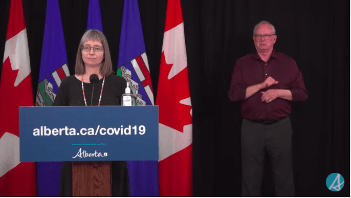 VIDEO: Alberta Dr. Deena Hinshaw's COVID-19 Update on Thursday