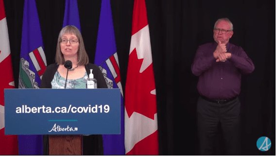 VIDEO: Alberta Dr. Deena Hinshaw's COVID-19 Update on Tuesday