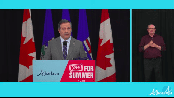 VIDEO: Alberta Government COVID-19 Update on Thursday
