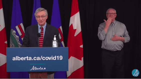 VIDEO: Alberta Update on COVID-19 on Tuesday